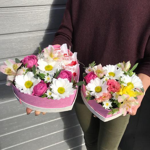 Цветочный дуэт: букеты цветов на заказ Flowwow