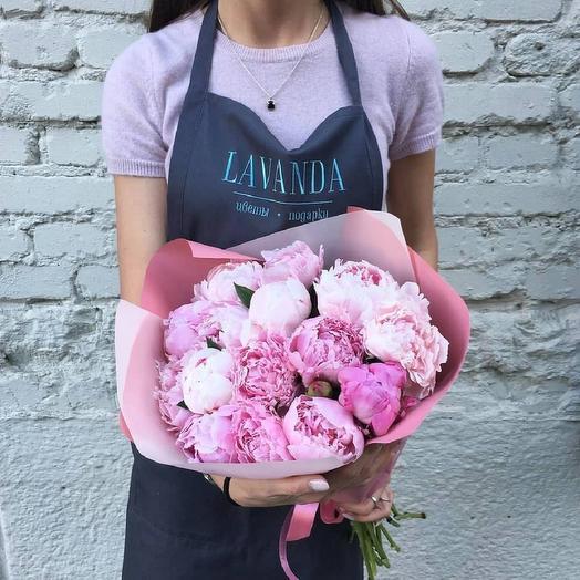 """Букет """"Воздушные пионы"""": букеты цветов на заказ Flowwow"""