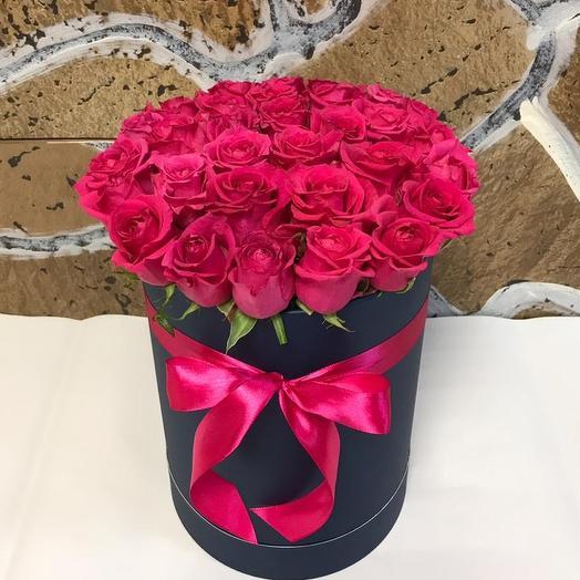 Коробочка из 29роз: букеты цветов на заказ Flowwow