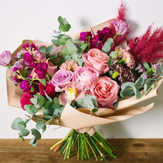 Розовый красавчик: букеты цветов на заказ Flowwow