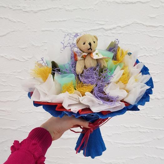 Букет из игрушек 9: букеты цветов на заказ Flowwow