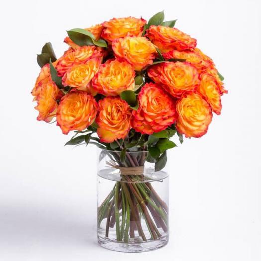 15 роз Эквадор Премиум