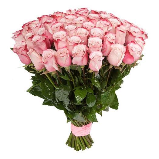 49 роз Эквадор Премиум: букеты цветов на заказ Flowwow