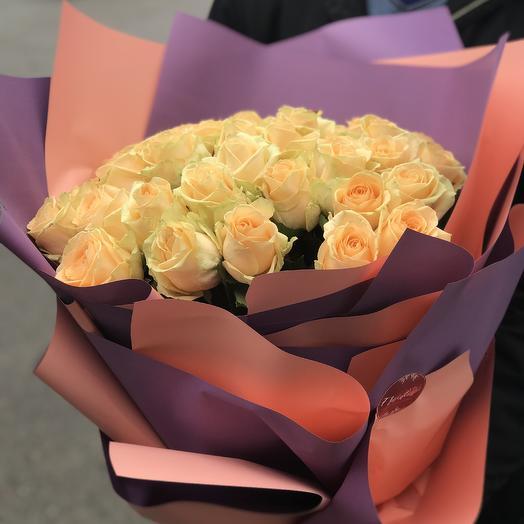 Букет «Персик»: букеты цветов на заказ Flowwow