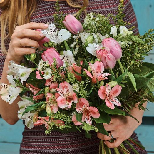 Нежностьо: букеты цветов на заказ Flowwow
