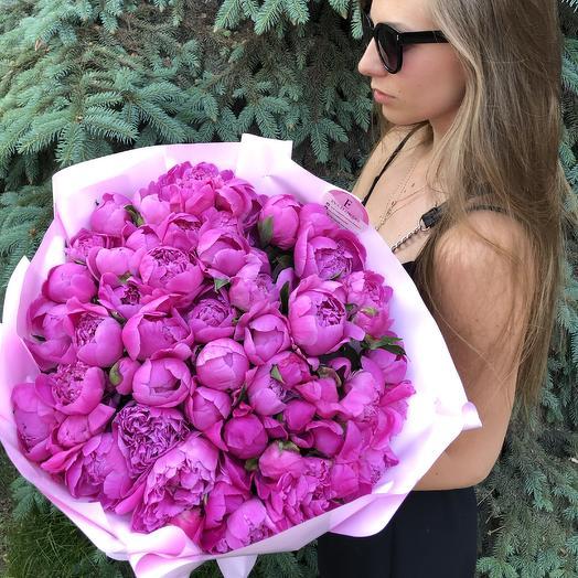 51 душистый пион: букеты цветов на заказ Flowwow