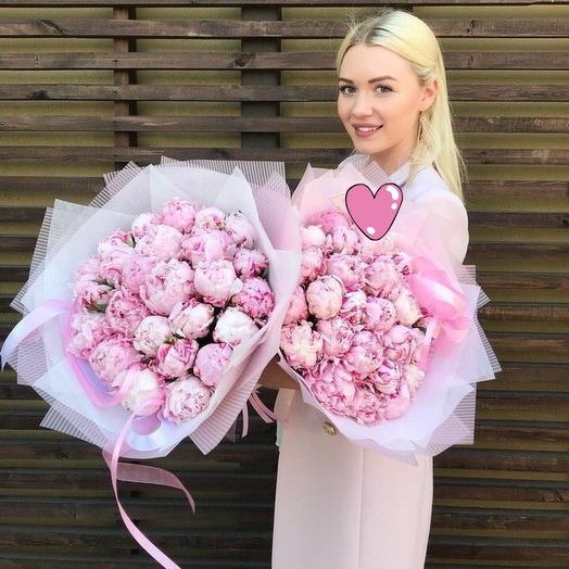 Пиономания сара бернар: букеты цветов на заказ Flowwow