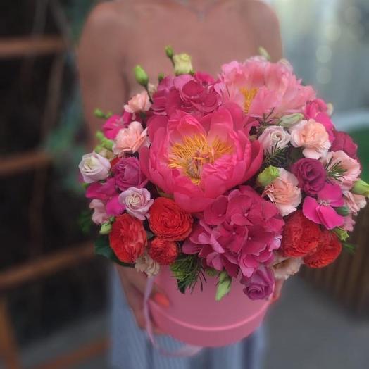 Сочное бордо: букеты цветов на заказ Flowwow