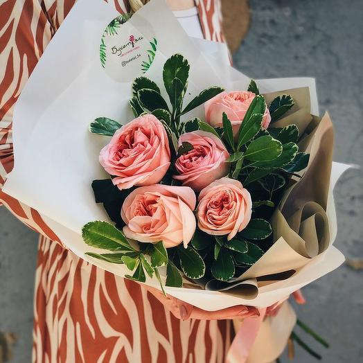 """БУКЕТ """"САДОВЫЙ СЮРПРИЗ"""": букеты цветов на заказ Flowwow"""