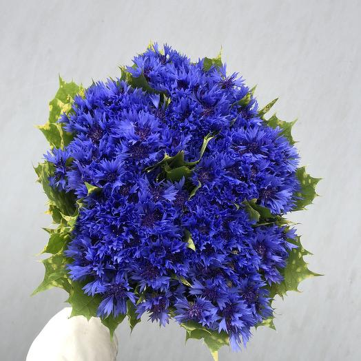 Васильковое поле: букеты цветов на заказ Flowwow
