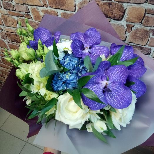 Загадочная: букеты цветов на заказ Flowwow