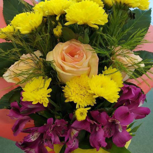 Осенний букет. Хорошее настроение: букеты цветов на заказ Flowwow
