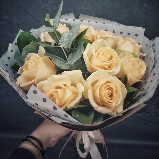 Крем: букеты цветов на заказ Flowwow
