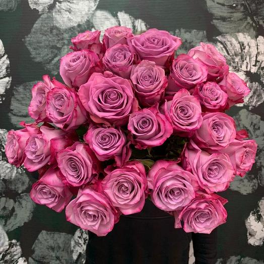 Розы муди блю: букеты цветов на заказ Flowwow