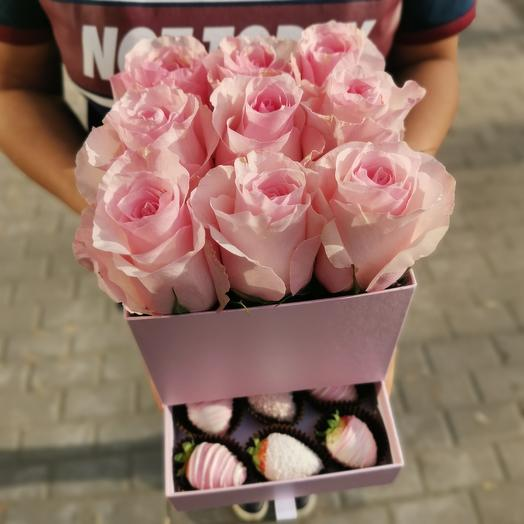 «Шкатулка» – S: букеты цветов на заказ Flowwow