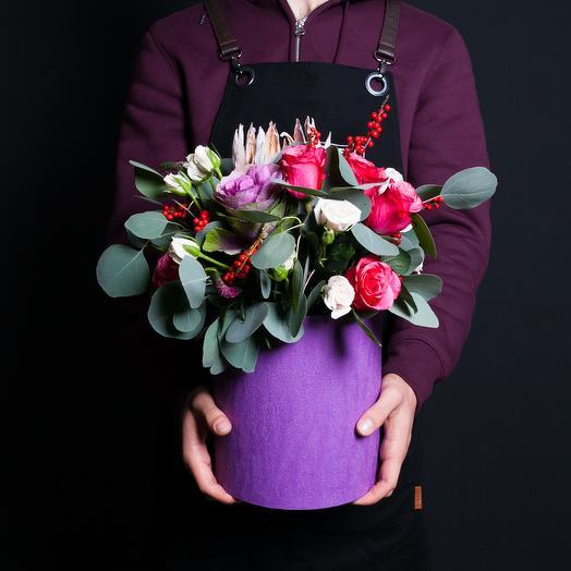 Box exotic: букеты цветов на заказ Flowwow