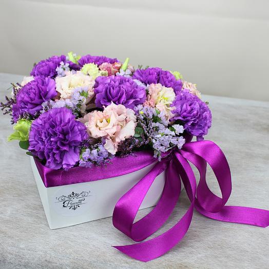 Черничное наслаждение: букеты цветов на заказ Flowwow
