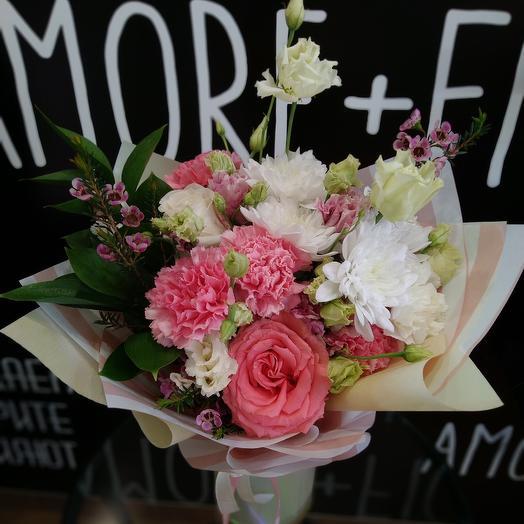 Цветочный букет: букеты цветов на заказ Flowwow