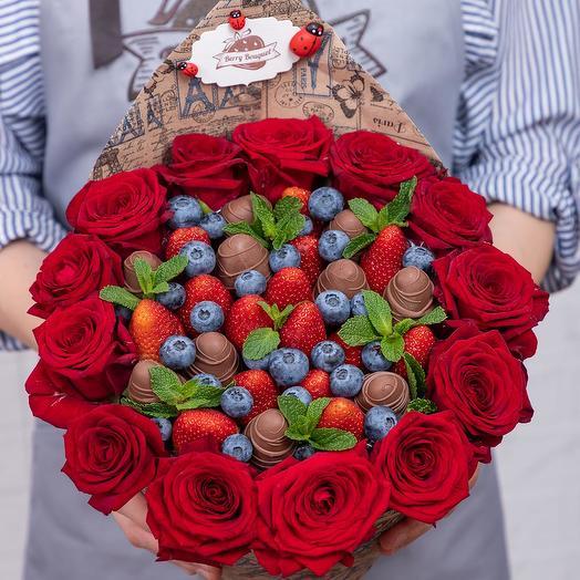 Букет Фондю с розами
