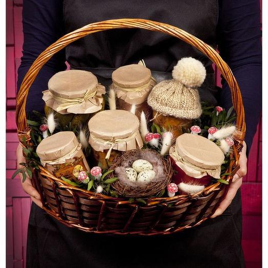 Подарочная корзина Оригиналу: букеты цветов на заказ Flowwow