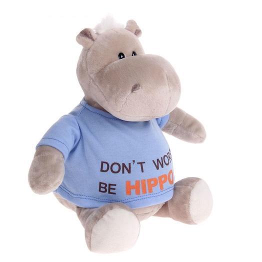 Мягкая игрушка «Бегемот BE HIPPO», 20 см: букеты цветов на заказ Flowwow