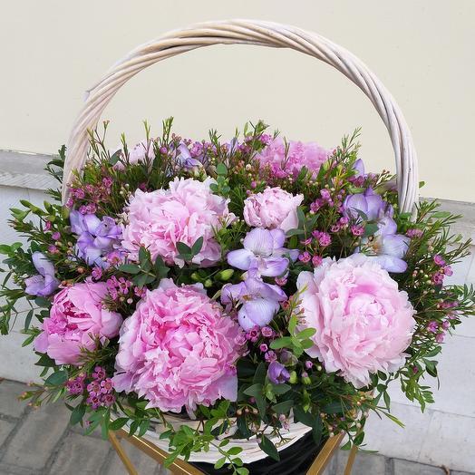 Корзина JULIETTA: букеты цветов на заказ Flowwow
