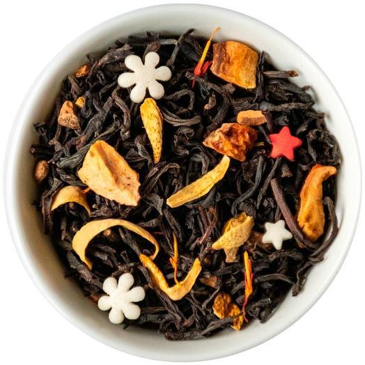 Чай с апельсином и корицей - Рождественский пудинг