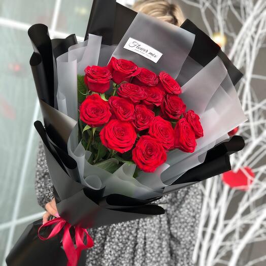 Розы Трепетная любовь