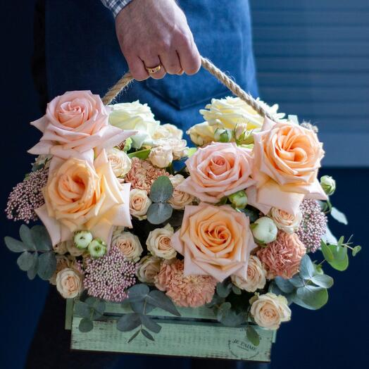 Цветы в ящике 1
