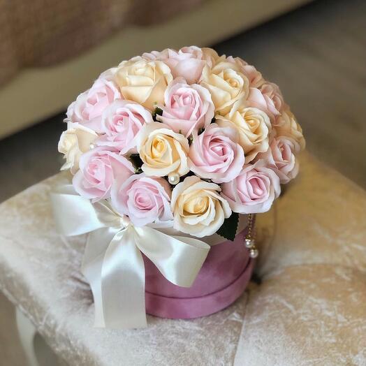 Мыльные розы 27 шт