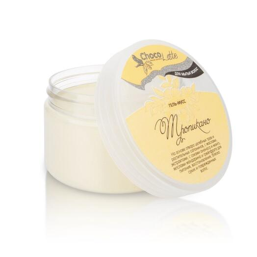 ChocoLatte Гель-крем для мытья волос Мусс Тропикано с соком ананаса и манго, 280 мл