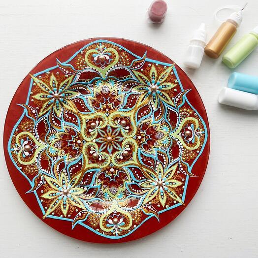 Набор для росписи стеклянной тарелки NESTbase «Марокко»