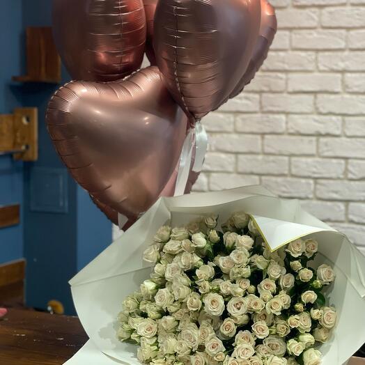 Шары Balloons + bouquet 💞