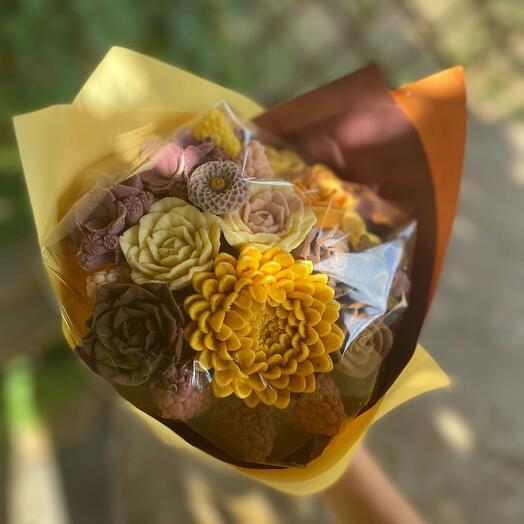 Шоколадный букет Солнечный