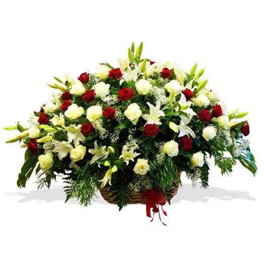 Корзина цветов ШИК: букеты цветов на заказ Flowwow