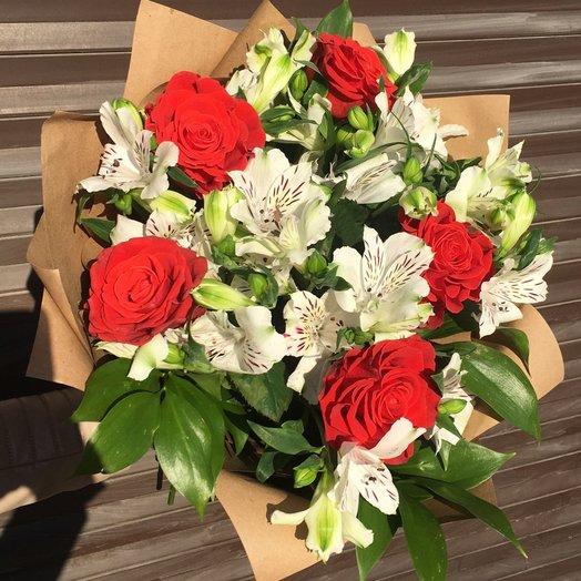 Букет авантаж: букеты цветов на заказ Flowwow