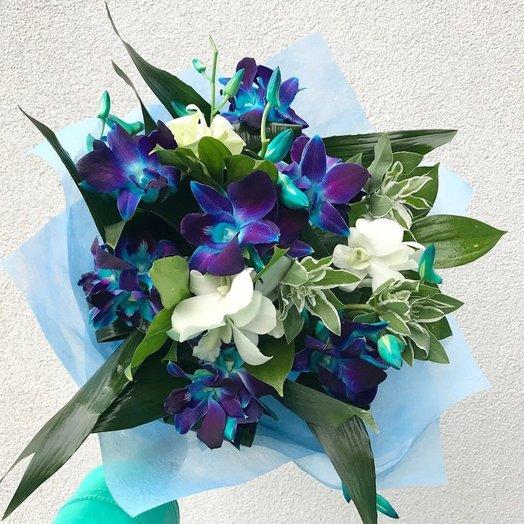 Букет для нежной девушки: букеты цветов на заказ Flowwow