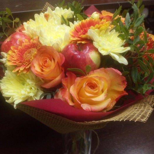 Вот и осень: букеты цветов на заказ Flowwow
