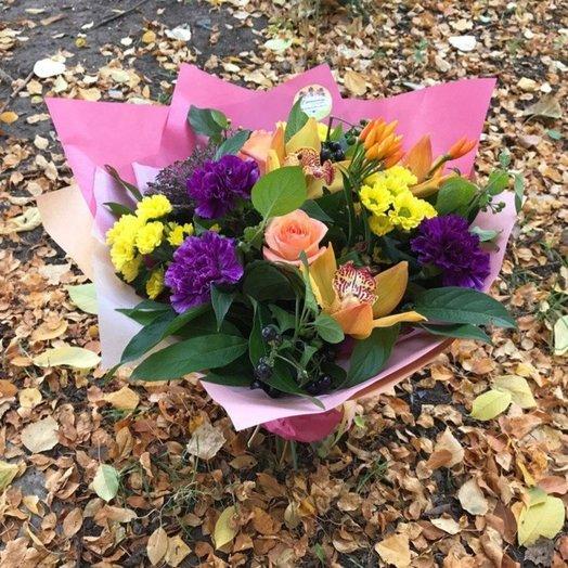 Осенний листопад: букеты цветов на заказ Flowwow