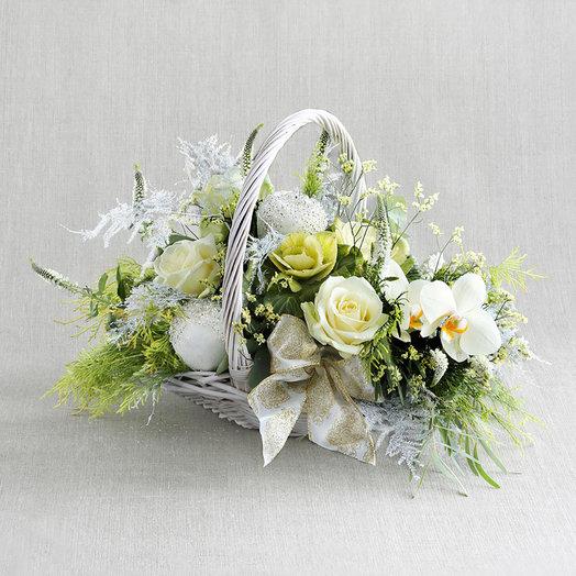"""Большая праздничная композиция """"Нежное стихотворение"""": букеты цветов на заказ Flowwow"""