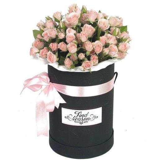 """Шляпная коробка """"Лолита"""": букеты цветов на заказ Flowwow"""