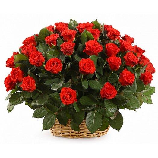 "Корзина ""Торжество"": букеты цветов на заказ Flowwow"