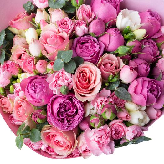 Нежная сари: букеты цветов на заказ Flowwow