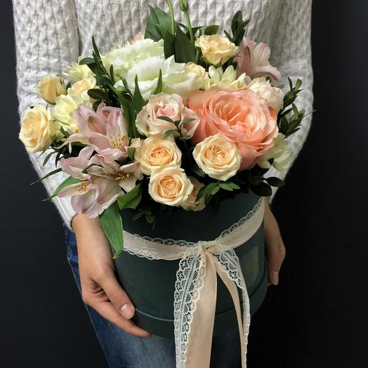 Коробочка нежности: букеты цветов на заказ Flowwow