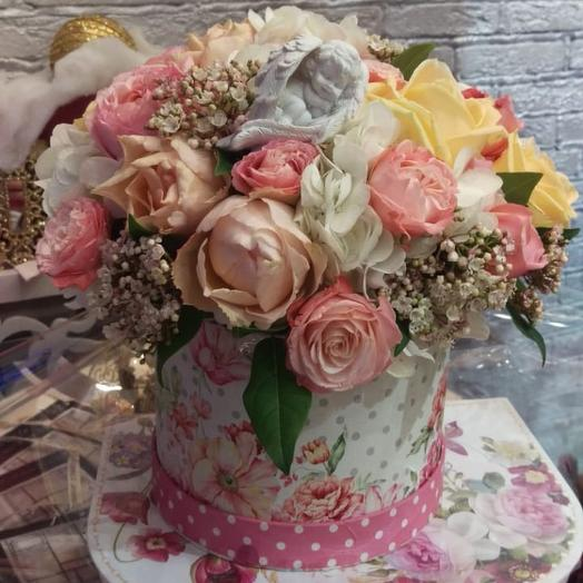 На крыльях ангела: букеты цветов на заказ Flowwow