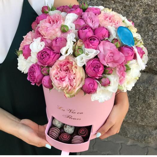 Шкатулка: букеты цветов на заказ Flowwow