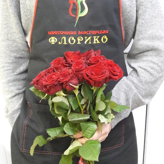 Красная роза 13: букеты цветов на заказ Flowwow
