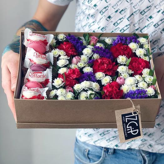Box 12 Средний 1: букеты цветов на заказ Flowwow