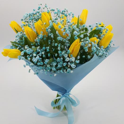 Солнышко в небе: букеты цветов на заказ Flowwow