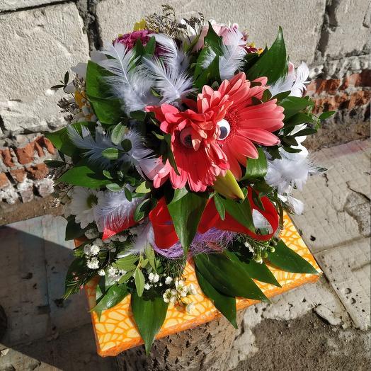 Мудрая совушка: букеты цветов на заказ Flowwow